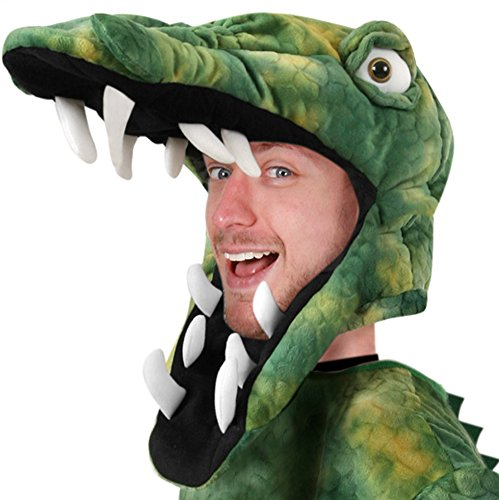 Adult Crocodile Costume Hat