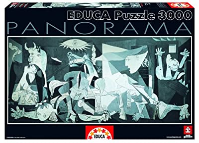 Guernica - Pablo Picasso Panoramic Puzzle 3000 Pieces from John N. Hansen Co.