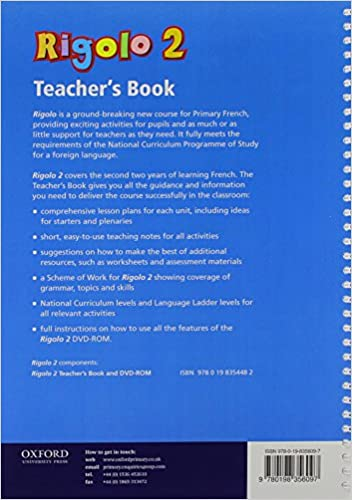 Rigolo 2 Teacher's Book and DVD-Rom: Years 5 and 6: Rigolo 2 ...
