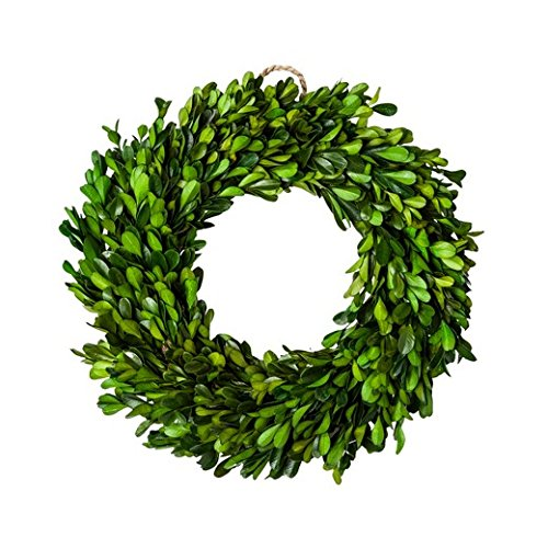 Preserved Boxwood Leaves Wreath ()