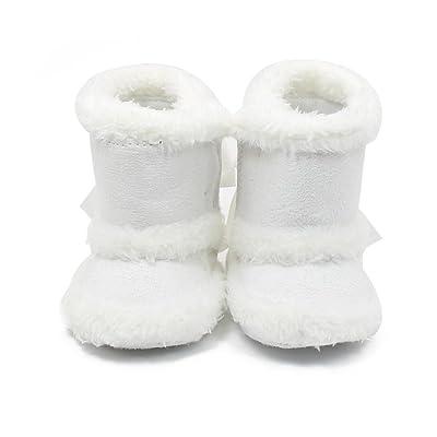 Swallowuk , Chaussures souple pour bébé (garçon) blanc weiß 11 cm