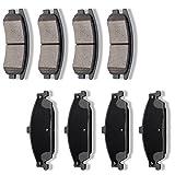 #5: SCITOO Ceramic Discs Brake Pads Kits, 8pcs Disc Brakes Pads Set fit 1999-2004 Oldsmobile Alero,1999-2004 Pontiac Grand Am
