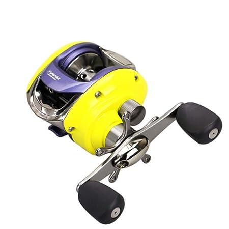 CYQAQ Carrete de Pesca Spinning Giratorio Ligero Accesorios 13 ...