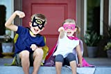 Batman Super Hero Cape & Mask - Black and Yellow Hero Cape, Super Hero Mask & Cape, Batman