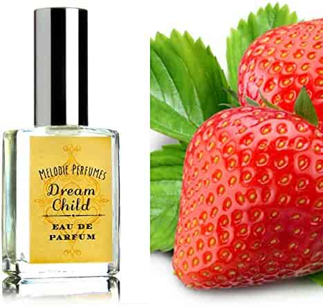 Dream Child perfume spray. Strawberries and champagnes. A rich layered twist on strawberry.