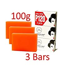 Kojie San Skin Lightening Kojic Acid Soap 3 Bars - 100g by Kojie San Skin Lightening Soap-100g