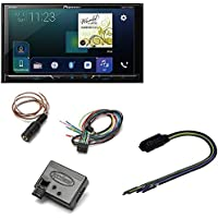 Pioneer AVH-2300NEX Multimedia DVD Receiver with 7 WVGA Display, Apple CarPlay, Pac TR1 Video Bypass Universal Trigger Output Metra Axxess ASWC-1 Universal Steering Wheel Control Interface