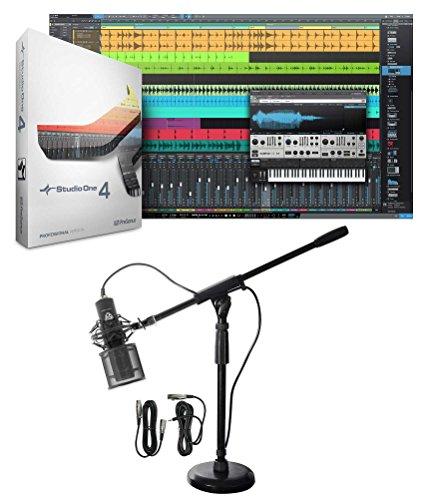 Presonus S14 XGRADE PRO Full Version of Studio One 4.0+Microphone+Boom Stand