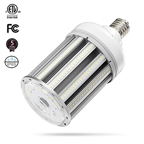 (100w Led Corn cob Light Bulb E39 Base, 5000K 13000lm AC100-277V,CFL HID HPS Metal Halide(400w) Replacement for Street and Area Light shoebox Fixture Factory Warehouse High Bay Work Light Parking Lot)