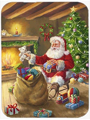 Price comparison product image Caroline's Treasures Christmas Santa Claus Unloading Toys Mouse Pad, Hot Pad or Trivet, Multicolor (APH5793MP)