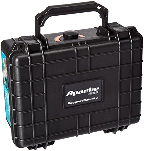 Apache Watertight Protective Hardcase with Customizable Foam Insert 9-3/16