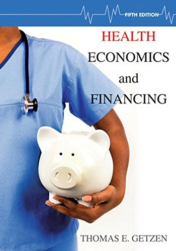 1118184904 - Health Economics and Financing