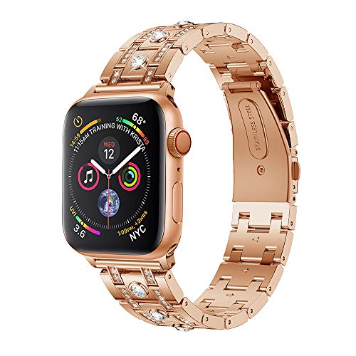Accessory for Apple Watch 4 Halloween Hot Sale!!Kacowpper New Fashion Rhinestone Replacement Accessory Watch Band Strap for Apple Watch Series 4 40MM/44MM