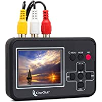 ClearClick Video To Digital Converter - Capture Video From VCRs, VHS Tapes, Hi8, Camcorder, DVD, & Gaming Systems