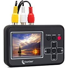 ClearClick Video To Digital Converter - Capture Video From VCR's, VHS Tapes, Hi8, Camcorder, DVD, & Gaming Systems