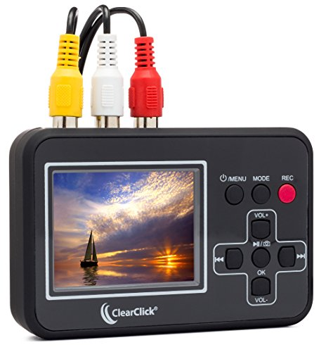 ClearClick Video to Digital Converter - Capture Video from VCR