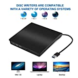 External CD Drive, Sibon USB 3.0 CD/DVD-RW