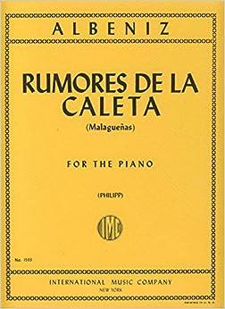 Book ALBENIZ - Rumores de la Caleta