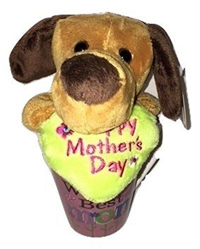 Mother's Day Gift Basket Bundle For Mom Set Plush Puppy and Keepsake Mug ()