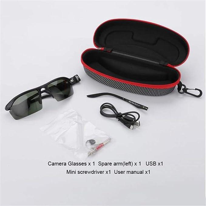 RENYAYA 32 GB 720P HD Oculto cámara Gafas Gafas espía CAM DV Gafas videocámara con función de grabación de Audio Adecuado para Android, Apple: Amazon.es: ...