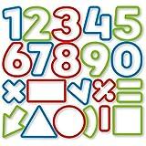 Tescoma 630926 Delicia Kids Tagliabiscotti Numeri, 21 Pezzi