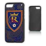 Keyscaper MLS Real Salt Lake Paisley Bump Case for iPhone 8/7, Black