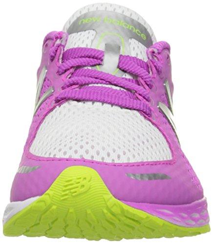 New Balance KJZNTV2 Youth Running Shoe (Little Kid/Big Kid), Pink/White, 12 W US Little Kid Pink/White