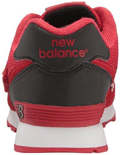 Kv574cki noir New Loop Mixte Balance Enfant Rouge Baskets Basses M And Hook WgSTfgO
