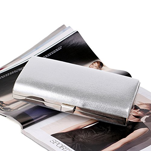 Clutch Bag Crystal Bag For Clutch Evening Silvery Wedding Prom Women's Party Bridal Evening OEPwAOq