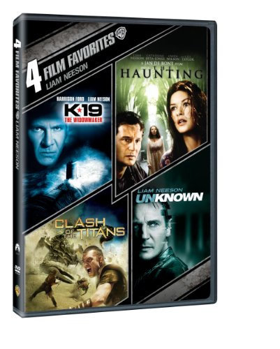 4 Film Favorites: Liam Neeson (K-19: The Widowmaker / The Haunting / Clash of The Titans / liam Neeson Unknown) ()