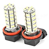 AS Vision AS-H11-1210-68SMDY-5PK 68-SMD H11 H8 Led Fog Lights/DRL Replacement Bulbs, 10 Pack (, Xenon Yellow)
