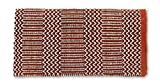 Mayatex Ramrod Doubleweave Saddle Blanket, Rust/Black, 32 x 64-Inch