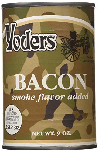 (Yoders Canned Fully Cooked Bacon, 9 Ounce)