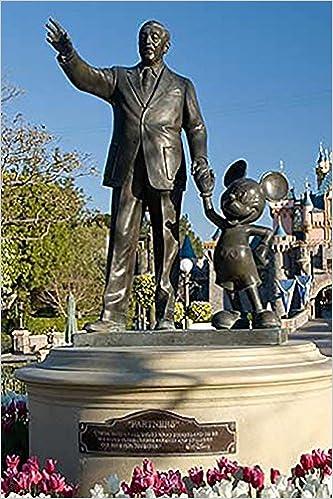 Journal Walt Disney Mickey Mouse Statue Disneyland