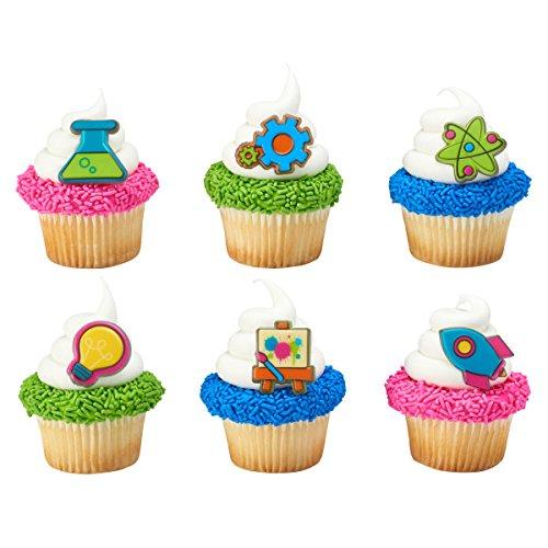 STEM Cupcake Rings - 24 pcs