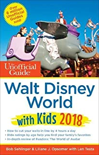 Book Cover: The Unofficial Guide to Walt Disney World with Kids 2018