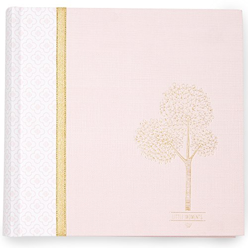 Dvd Photo Albums (C.R. Gibson Woodland Themed Slim Photo Journal Album for Babies and Newborns, 9