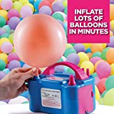 Prextex Balloon Pump Electric Air Blower Dual