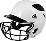 Adidas Trilogy Fastpitch Batting Helmet (Black, OneSizeFitsMost)
