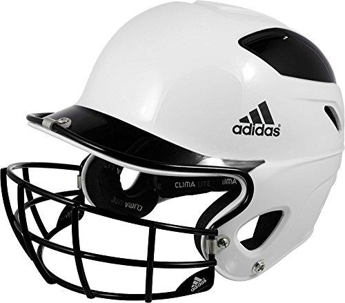 Adidas Trilogy Fastpitch Batting Helmet (Black, OneSizeFitsMost) by adidas