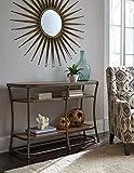 Cheap Nartina Light Brown Wood and Metal Sofa Table