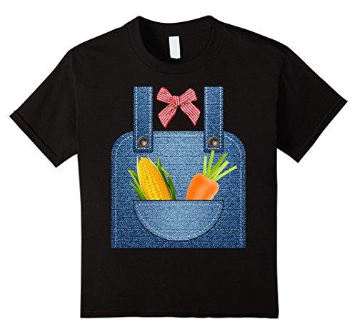 Kids Hottest Farmer Halloween Costume Ever T-shirt 8 (Farmer Halloween)
