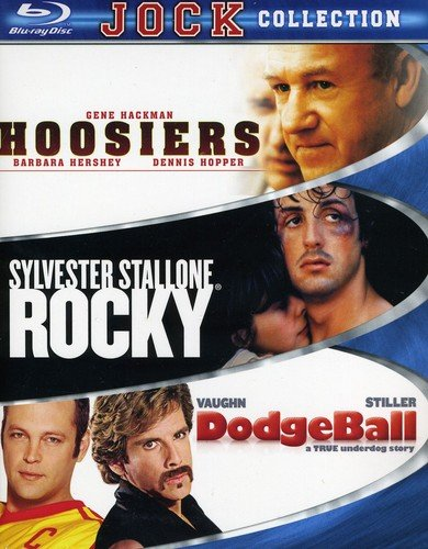 Jock Collection (Dodgeball / Hoosiers / Rocky) [Blu-ray] by MGM (Video & DVD)