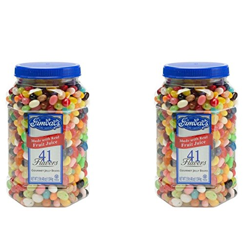 Gimbal's Fine Candies Gourmet Jelly Beans, 41 Flavors, 40-Ou