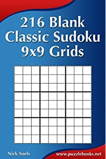 Blank Sudoku Grids: Made a mistake? Use a blank grid & start again ...