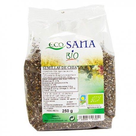 EcoSana - Semillas de Chia - 250g