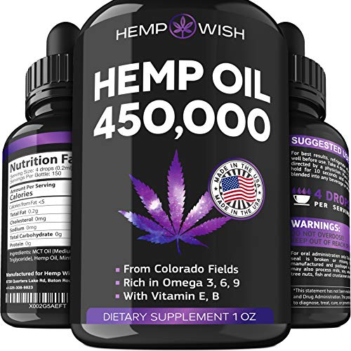 Hemp Oil 450000 Improvedmula