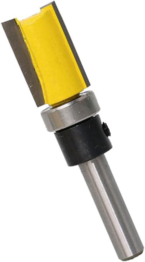 1//4 6,35 mm Schaftdurchmesser 12,7x11,9mm Kopierfr/äser B/ündigfr/äser Kantenfr/äser Nutfr/äser mit Kugellager Unten