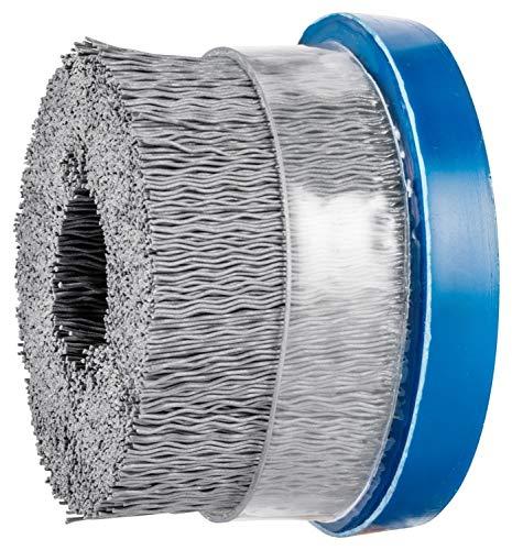 0.022 Round Filament 3 Diameter Silicon Carbide Grain 4500 RPM PFERD 84125 M-Brad High Density Composite Disc Brush 320 Grit