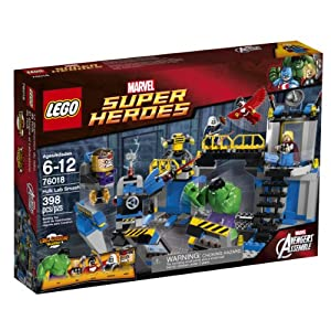 LEGO® Super Heroes, Hulk Lab Smash- Item #76018